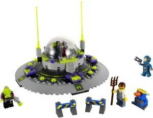 LEGO Christmas Gift Ideas 2012 Alien Abduction Flying Saucer Set