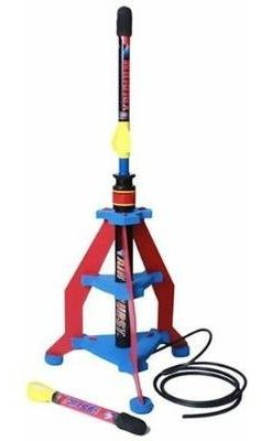 Gift Idea Air Burst Air Powered Rocket with Launcher For Sale