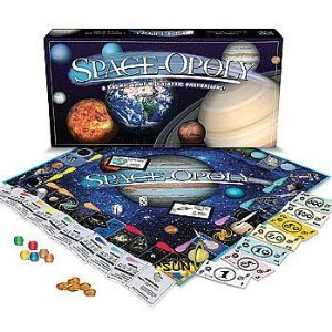 UFO Wisconsin Shop Space Opoly Board Game For Sale