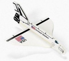 UFO Wisconsin Store Space Shuttle Glider Toy for sale