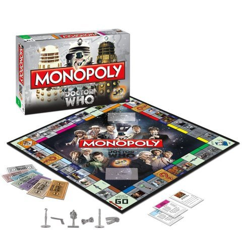 Doctor Who Monopoly Board Game Gifts for 2013