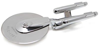 USS Enterprise Pizza Cutter Star Trek Best Gift Ideas 2012