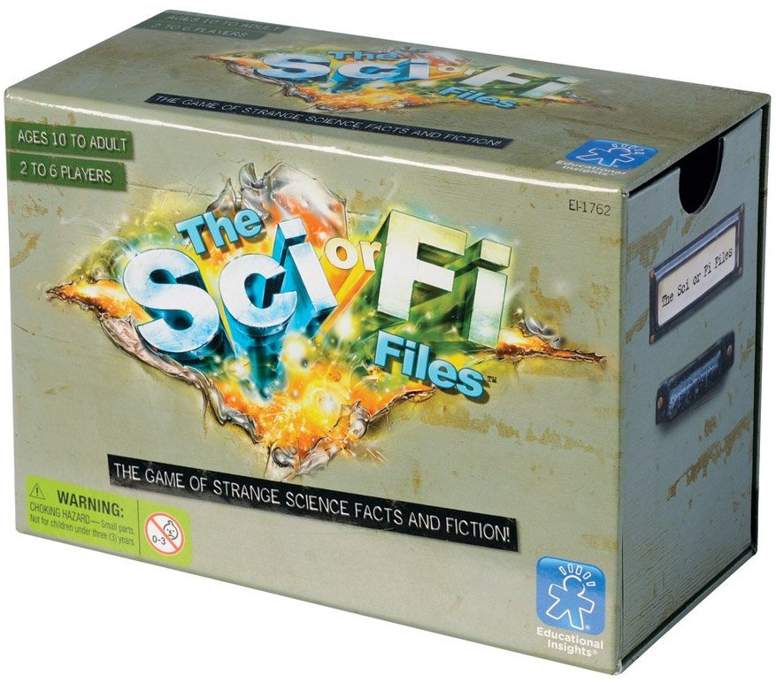 Original Sci Fi Gift Ideas for 2012 Si or Fi Game for sale