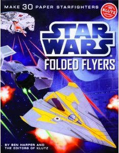 Star Wars Folded Flyers Paper Airplane Guide For Sale