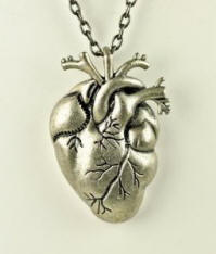 Anatomically Correct Heart Necklace best of 2012