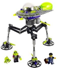 UFO Wisconsin Store LEGO Alien Tripod Saucer for sale