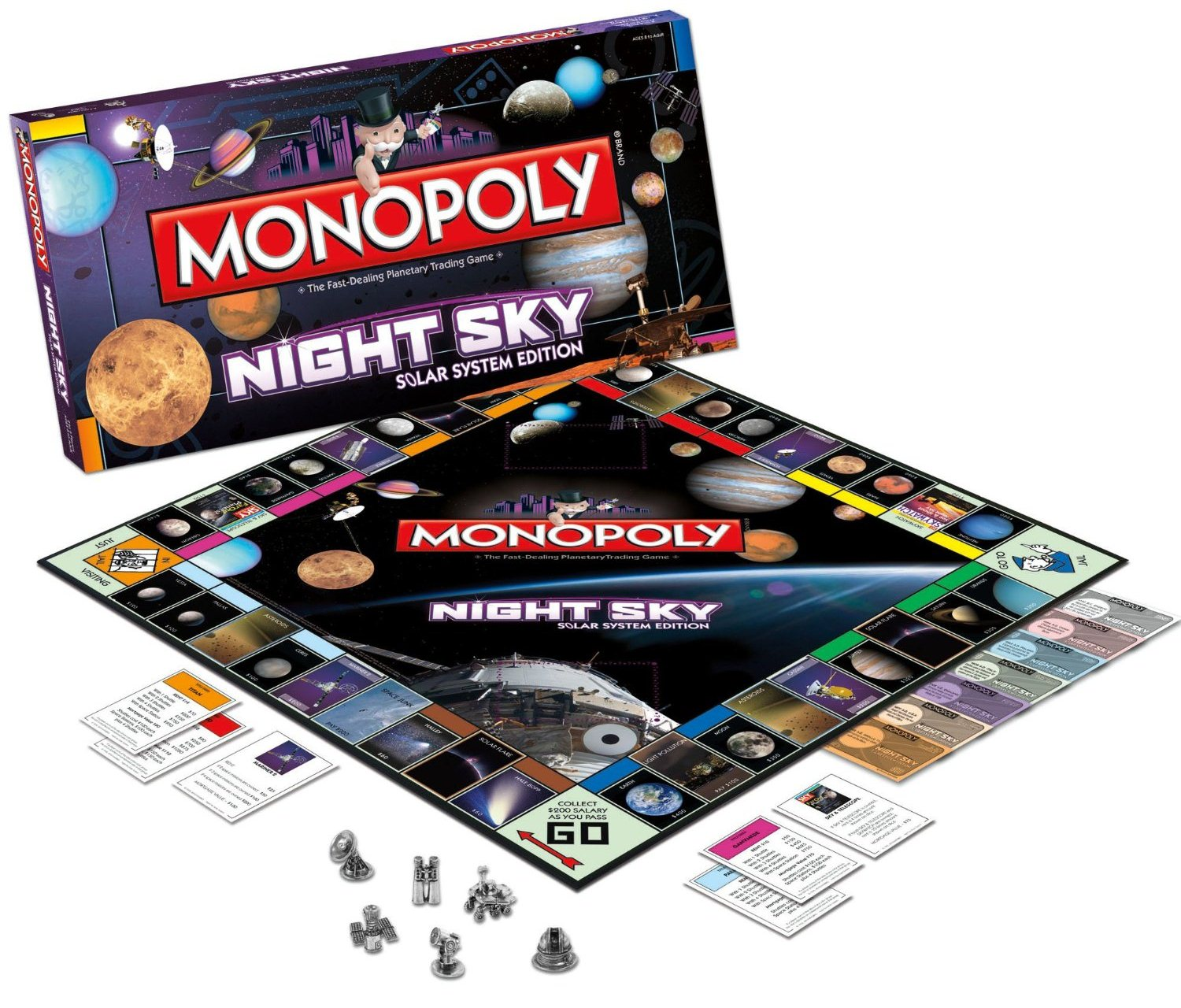 Night Sky Monopoly Best UFO Gift Ideas 2012